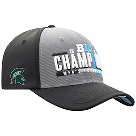 Spartans Top of the World 2019 Big Ten Men's Basketball Conference Tournament Champions Locker Room Adjustable Hat